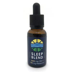 SLEEP BLEND | Full Spectrum CBD Oil + Melatonin